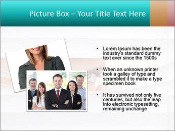 Woman peering PowerPoint Templates - Slide 20