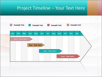 Woman peering PowerPoint Templates - Slide 25