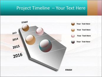 Woman peering PowerPoint Templates - Slide 26