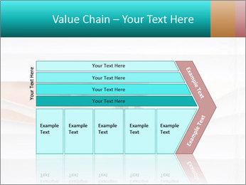 Woman peering PowerPoint Templates - Slide 27