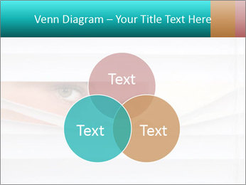 Woman peering PowerPoint Templates - Slide 33