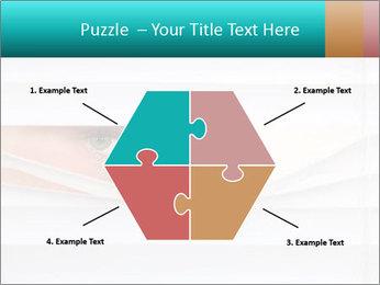 Woman peering PowerPoint Templates - Slide 40