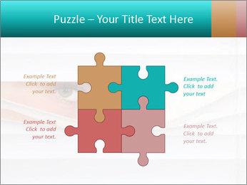 Woman peering PowerPoint Templates - Slide 43