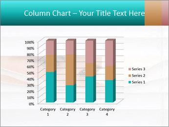 Woman peering PowerPoint Templates - Slide 50