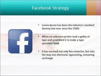 Woman peering PowerPoint Templates - Slide 6