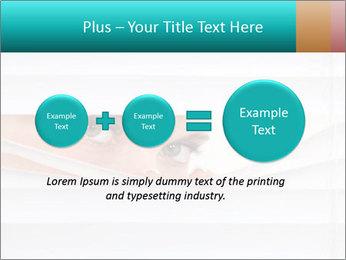 Woman peering PowerPoint Templates - Slide 75
