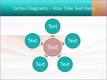Woman peering PowerPoint Templates - Slide 78
