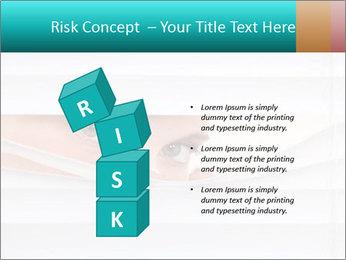 Woman peering PowerPoint Templates - Slide 81