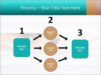 Woman peering PowerPoint Templates - Slide 92