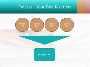 Woman peering PowerPoint Templates - Slide 93