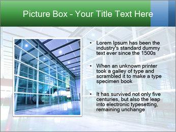 Interior of modern PowerPoint Template - Slide 13