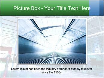 Interior of modern PowerPoint Template - Slide 16