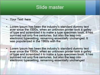 Interior of modern PowerPoint Template - Slide 2