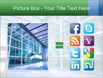 Interior of modern PowerPoint Template - Slide 21