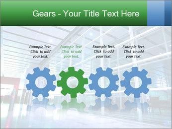 Interior of modern PowerPoint Template - Slide 48