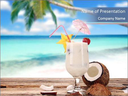 Cocktails PowerPoint Template