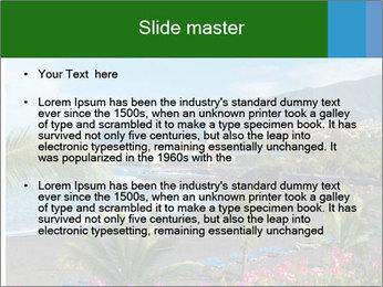 Playa Jardin PowerPoint Template - Slide 2