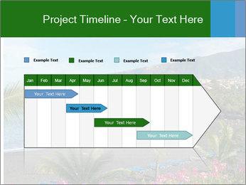 Playa Jardin PowerPoint Template - Slide 25