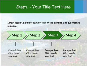 Playa Jardin PowerPoint Template - Slide 4
