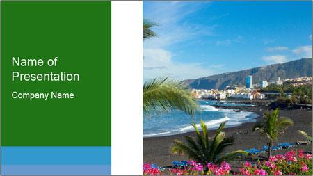 Playa Jardin PowerPoint Template