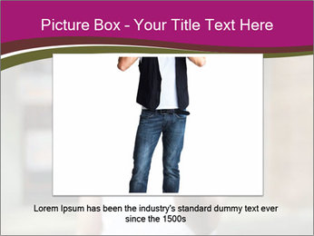 Men photographing with smartphone PowerPoint Template - Slide 15