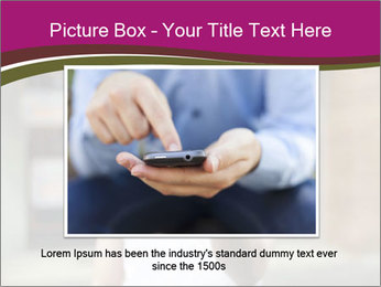 Men photographing with smartphone PowerPoint Template - Slide 16