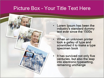 Men photographing with smartphone PowerPoint Template - Slide 17