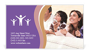 0000092501 Business Card Template