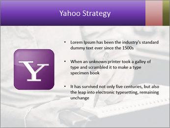 Male artist PowerPoint Template - Slide 11