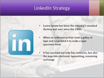 Male artist PowerPoint Template - Slide 12