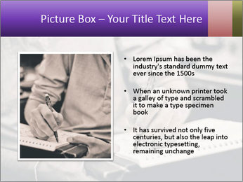 Male artist PowerPoint Template - Slide 13
