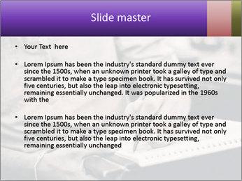 Male artist PowerPoint Template - Slide 2
