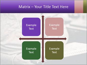 Male artist PowerPoint Template - Slide 37