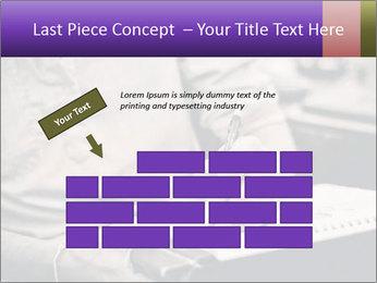 Male artist PowerPoint Template - Slide 46