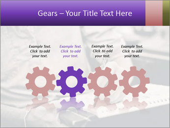 Male artist PowerPoint Template - Slide 48