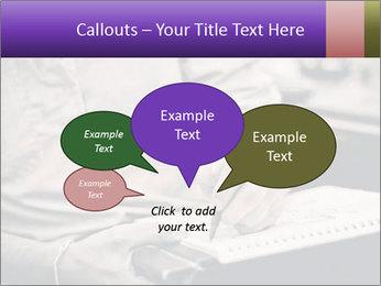 Male artist PowerPoint Template - Slide 73