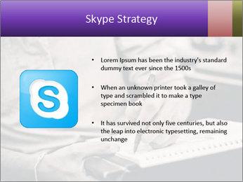 Male artist PowerPoint Template - Slide 8