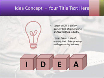 Male artist PowerPoint Template - Slide 80
