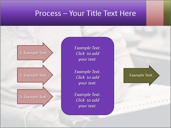 Male artist PowerPoint Template - Slide 85