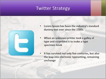 Male artist PowerPoint Template - Slide 9