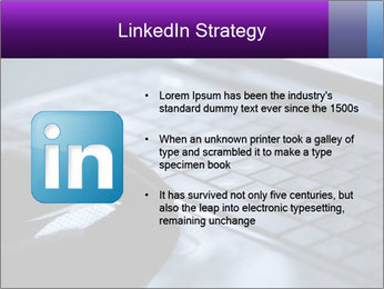 Using a laptop PowerPoint Template - Slide 12