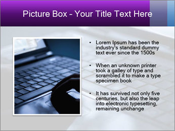Using a laptop PowerPoint Template - Slide 13