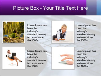 Using a laptop PowerPoint Template - Slide 14