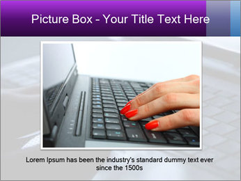 Using a laptop PowerPoint Template - Slide 16
