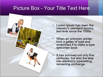 Using a laptop PowerPoint Template - Slide 17