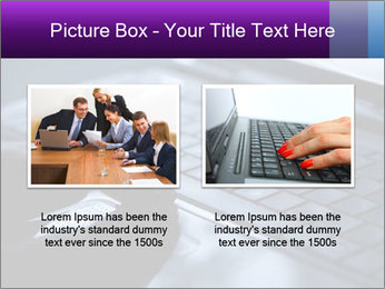 Using a laptop PowerPoint Template - Slide 18