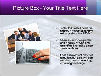 Using a laptop PowerPoint Template - Slide 20