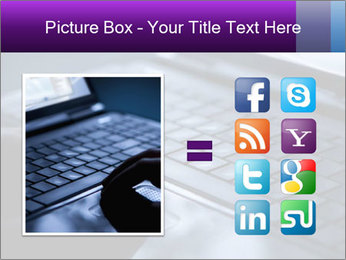Using a laptop PowerPoint Template - Slide 21