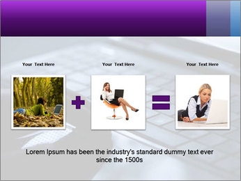 Using a laptop PowerPoint Template - Slide 22