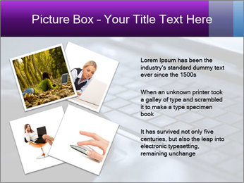 Using a laptop PowerPoint Template - Slide 23